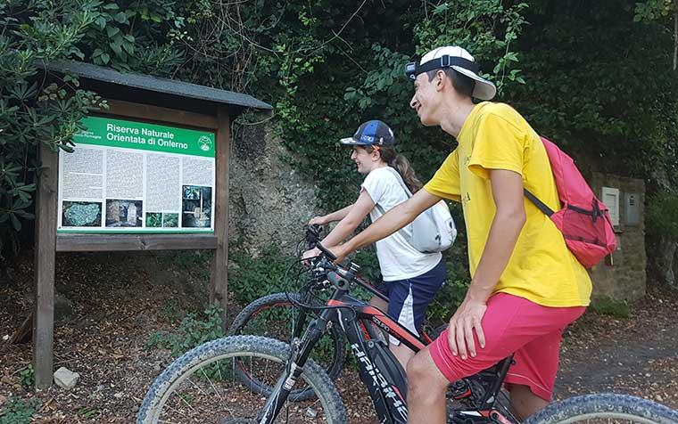 escursioni ebike valconca famiglie bambini